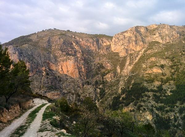 Camino mountain track