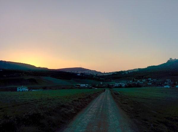 Camino sunrise