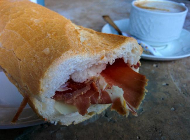 Camino - food