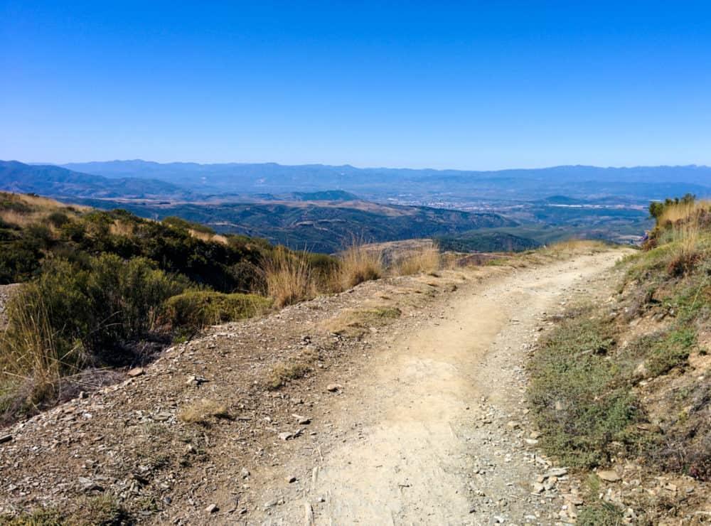 Camino mountain view