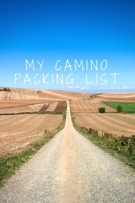 A highly-detailed guide to what to pack for the Camino de Santiago.
