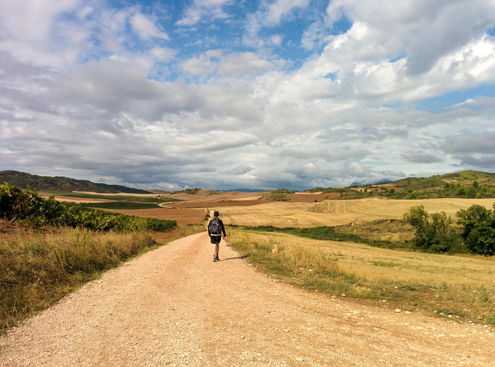 Camino - single walker