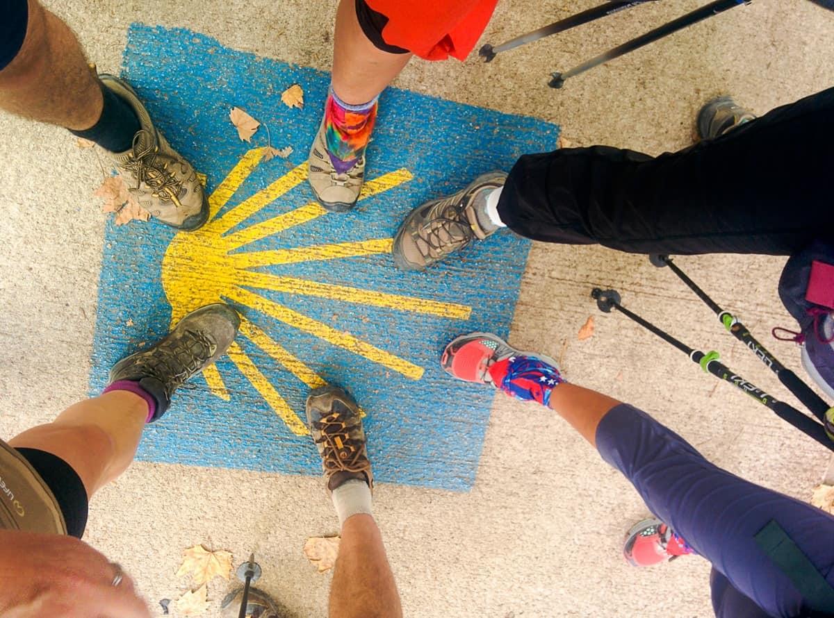 Camino - feet