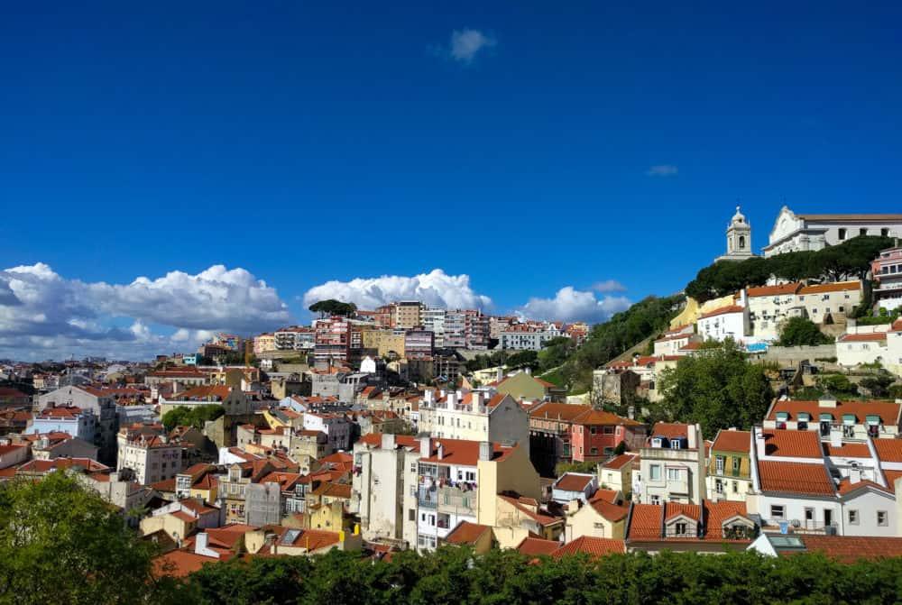 Lisbon view April 2016