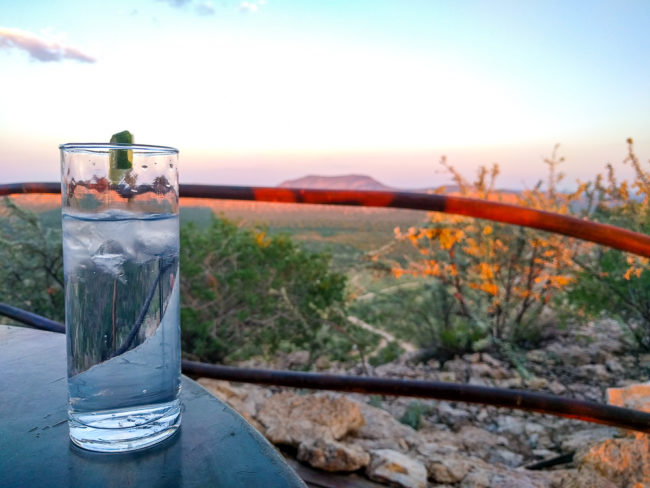 G&T with a view, Vingerklip