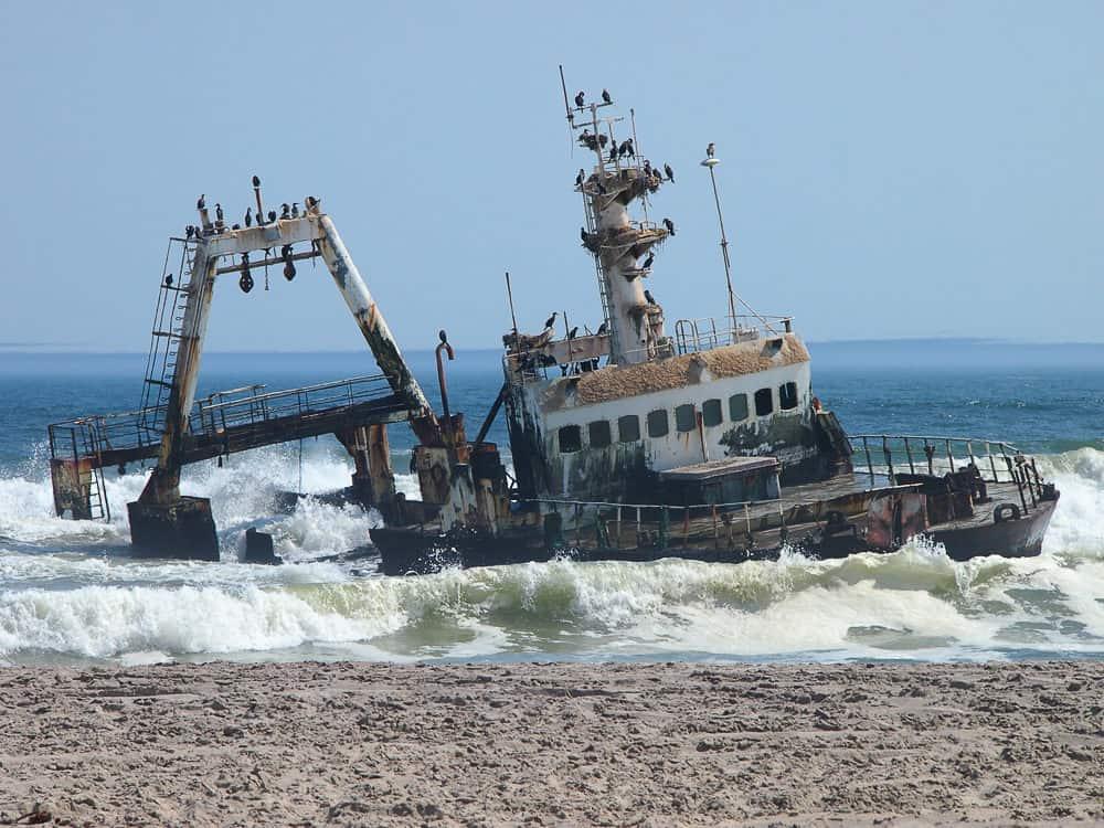 Shipwreck, Namibia