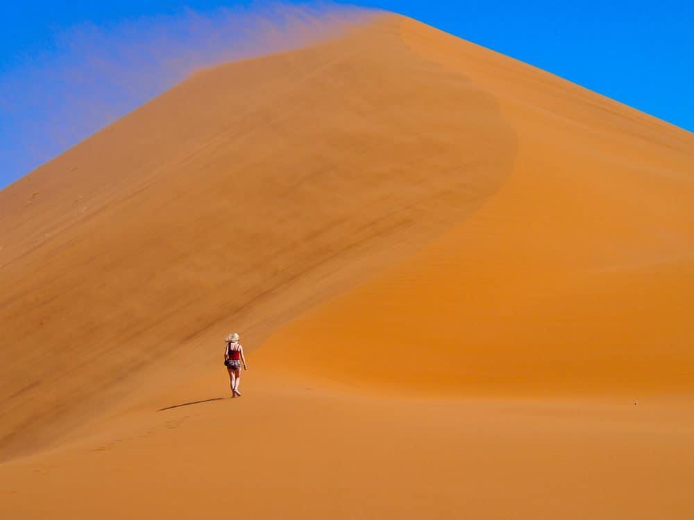 Windswept dune, Sossusvlei
