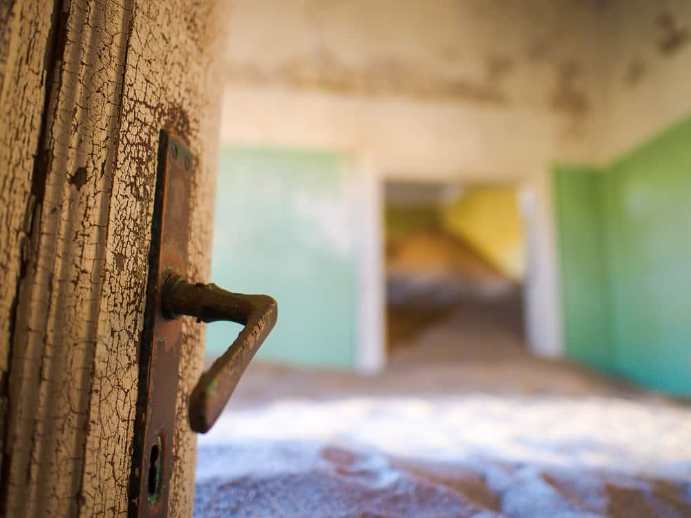 Door handle, Kolmanskop