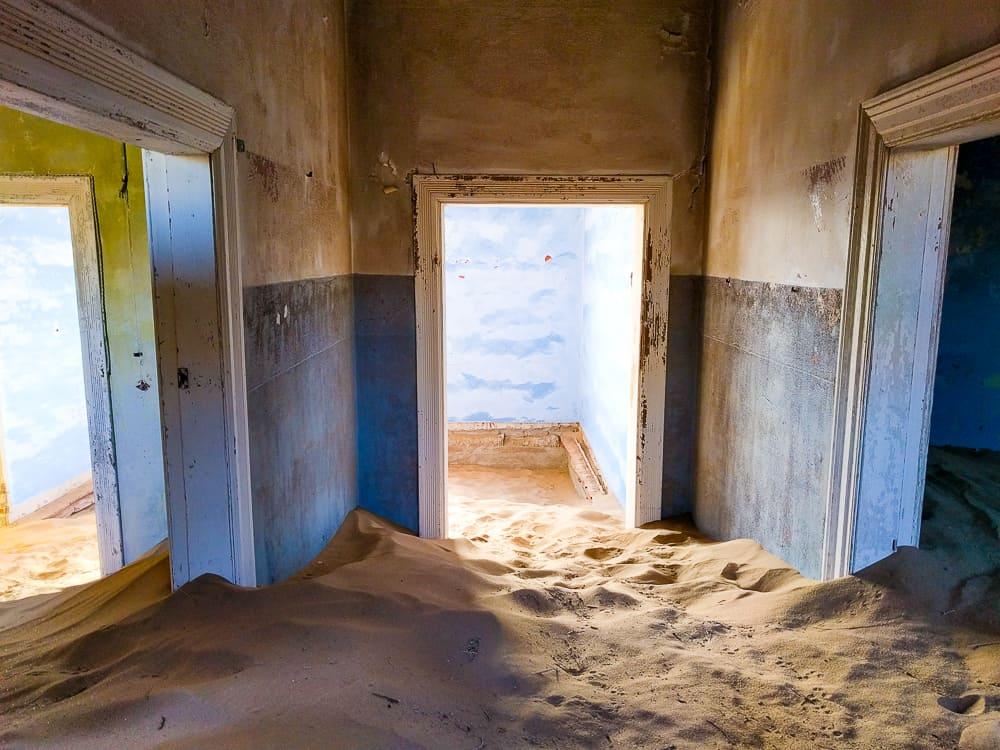 Four doors, Kolmanskop