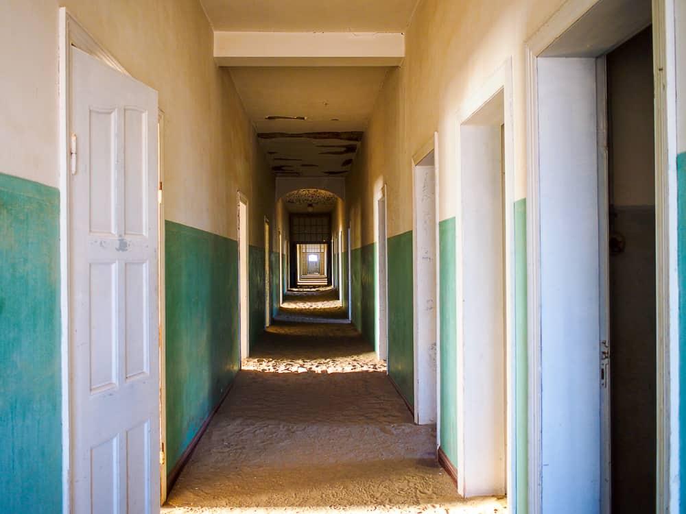 Hallway, Kolmanskop