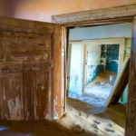 Kolmanskop through the door frames