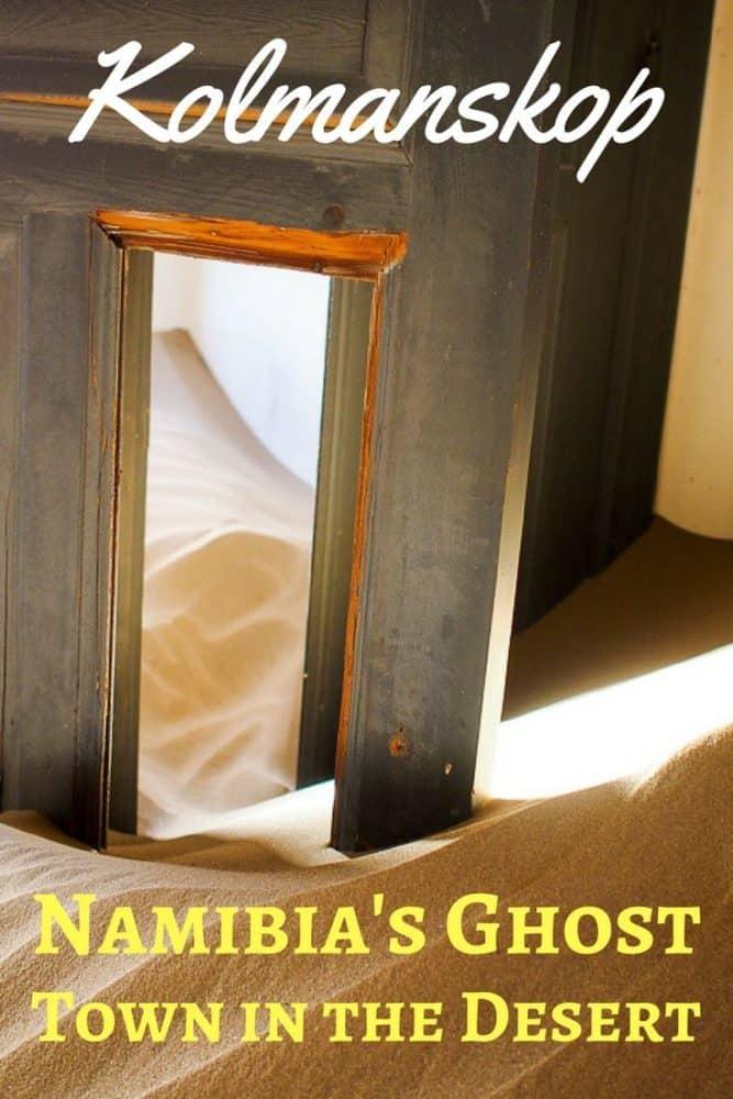 Visiting Kolmanskop, Namibia