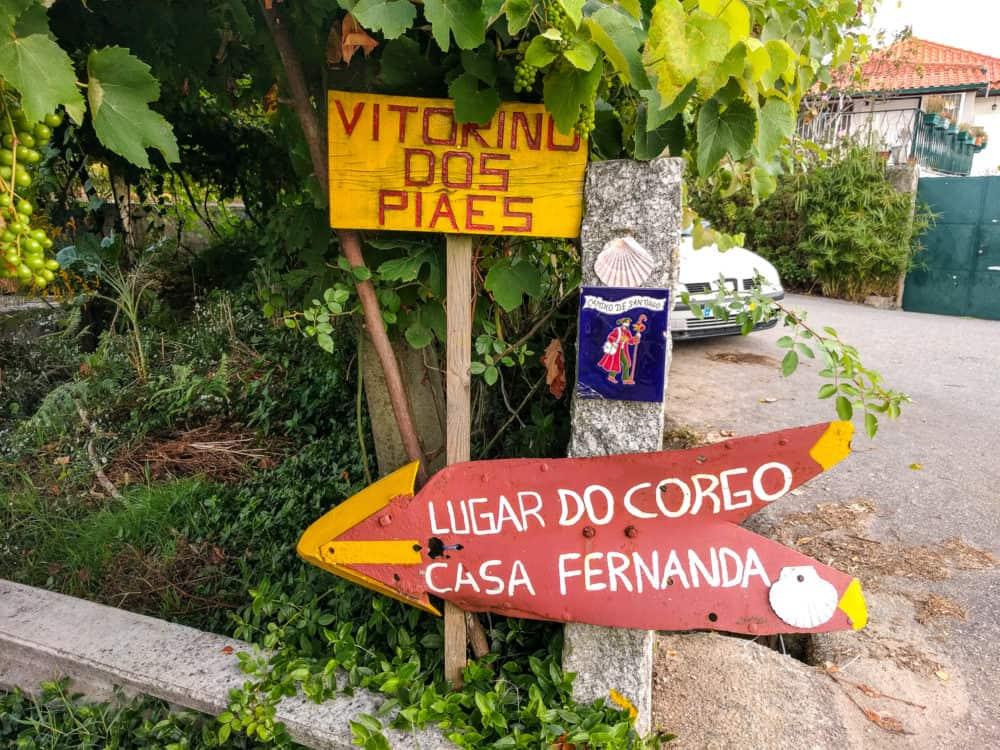 Camino Portuguese, Casa Fernanda, day 4