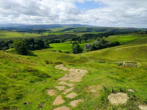 Hadrian's Wall Trail, day 4 downhill