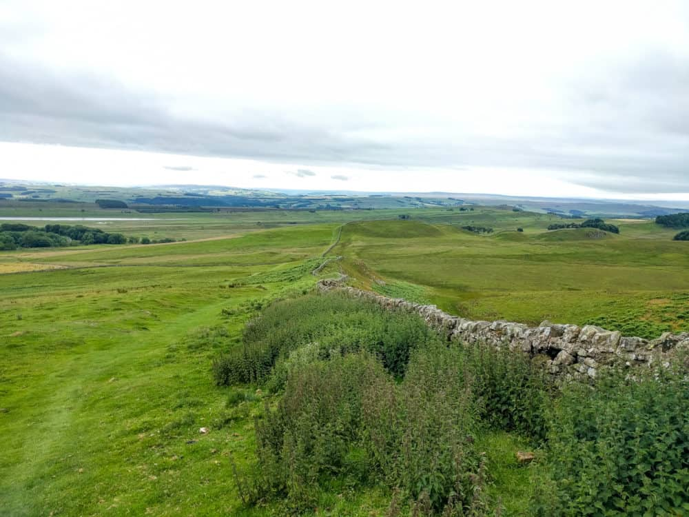Hadrian's Wall Trail, views on day 3