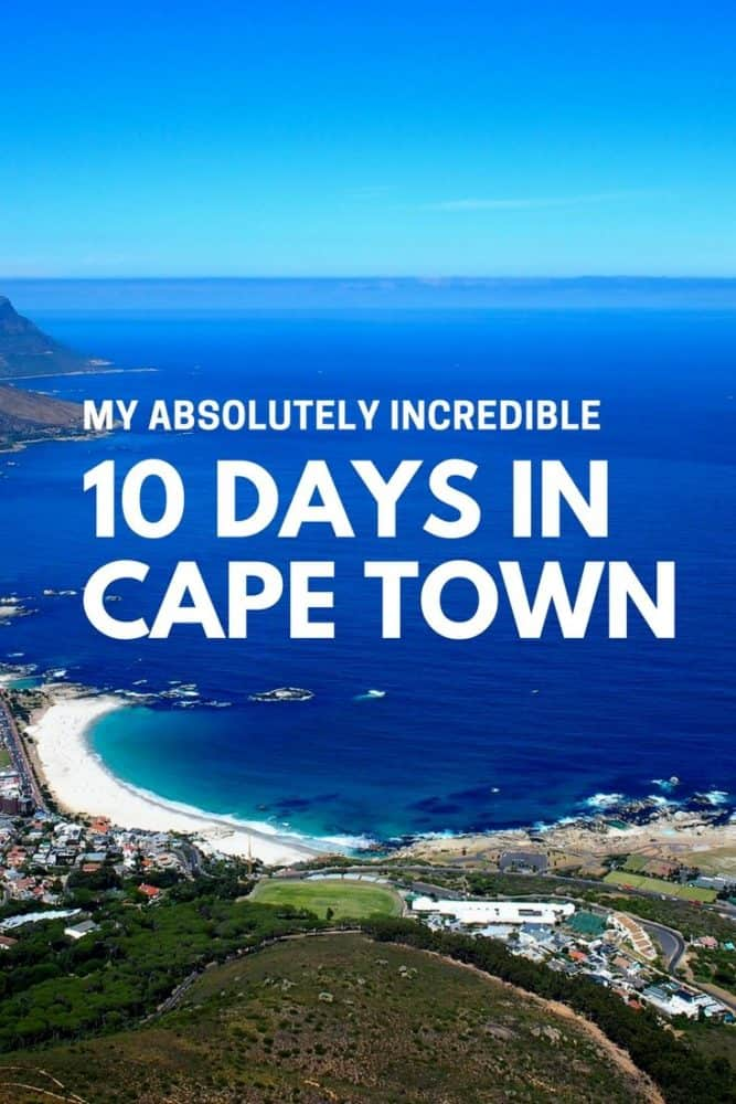10 Days in Cape Town