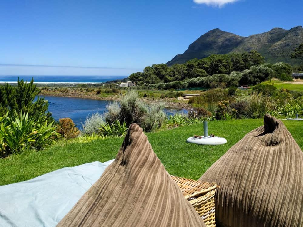 Cape Point Vineyards picnic