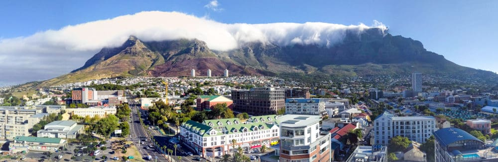 Table Mountain with cloud
