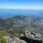 View of Lion's Head from Table Mountain