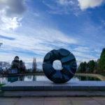 Black Sun sculpture