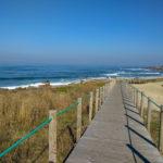 Beachside trail, Camino Portuguese