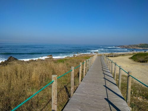 Beachside trail, Camino Portuguese