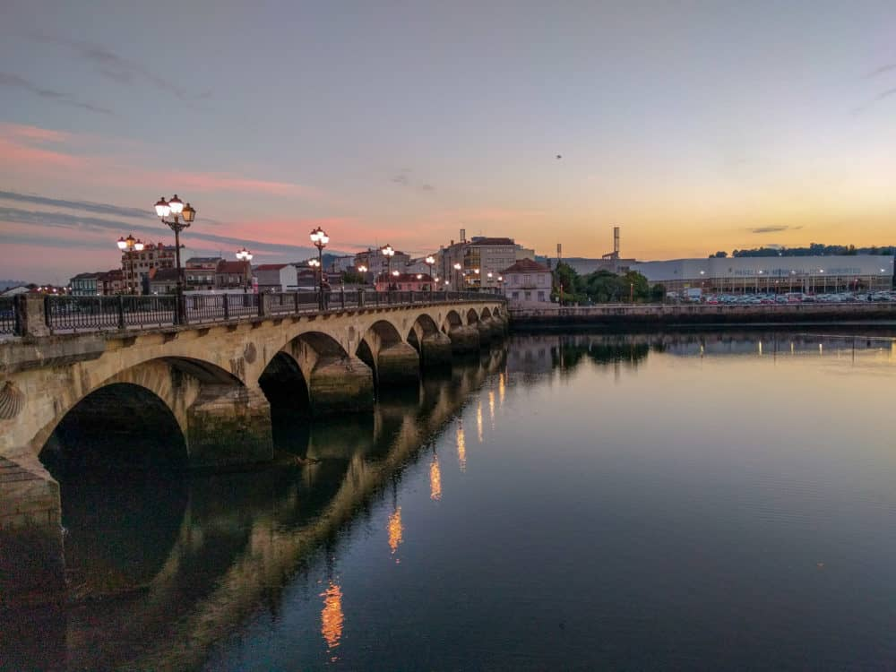 Pontevedra bridge, Camino Portuguese