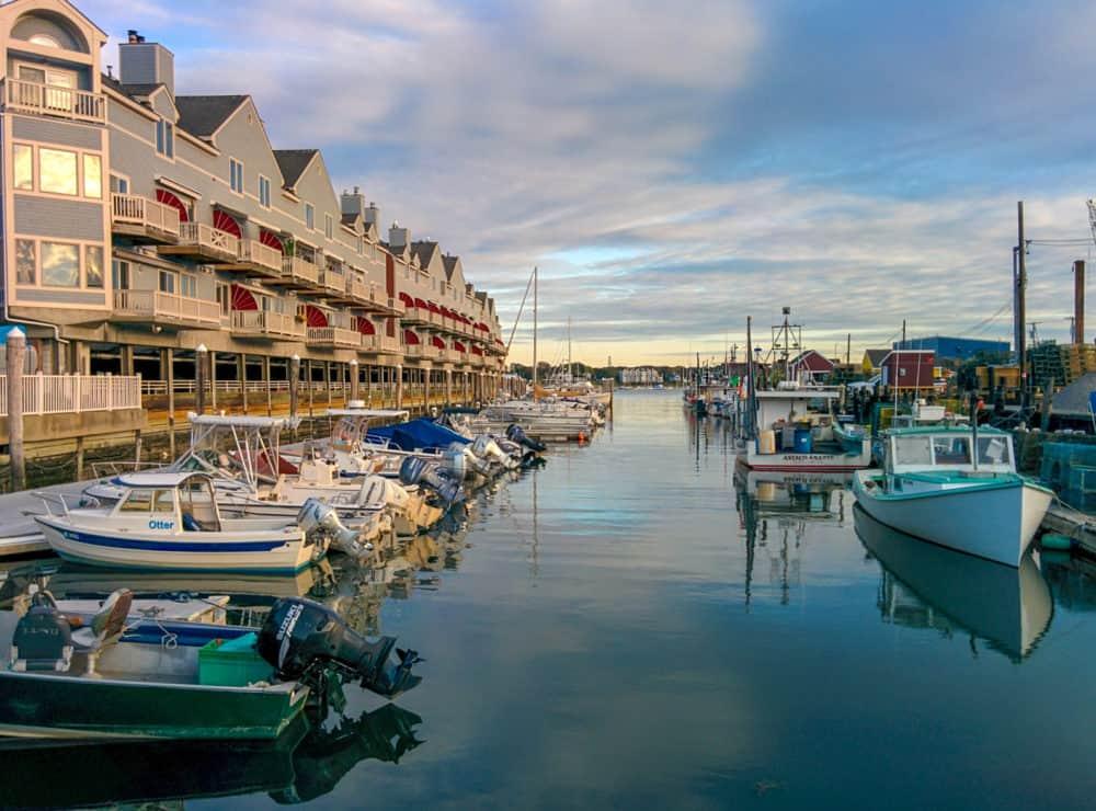 Portland, Maine boats