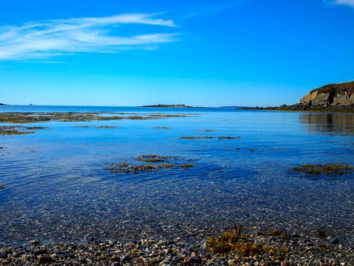 Still water, Lands End, Maine