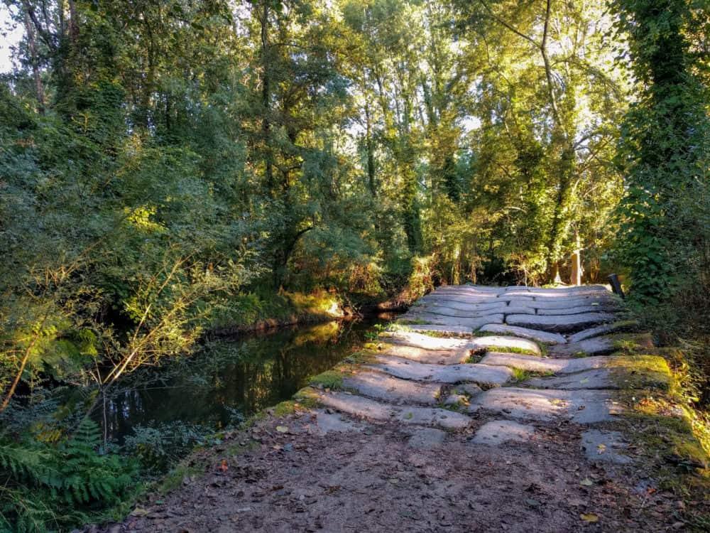 Stone bridge, Camino Portuguese