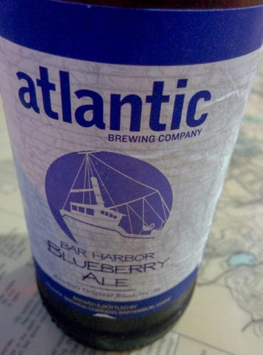 Atlantic blueberry ale