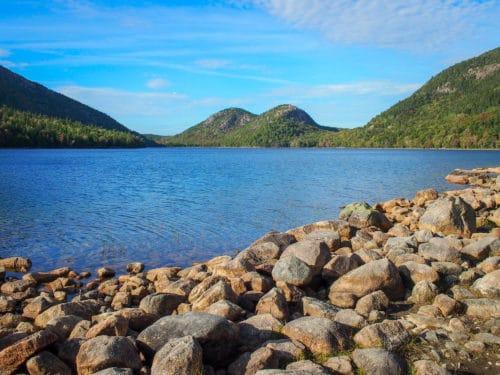 Bubbles and rocks, Acadia