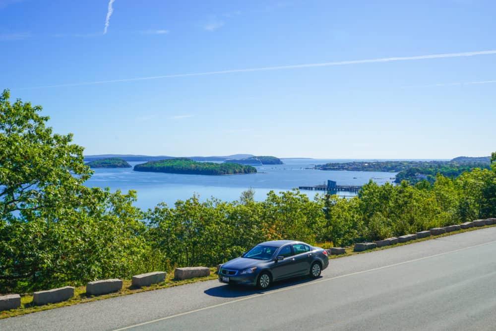 Car in Acadia