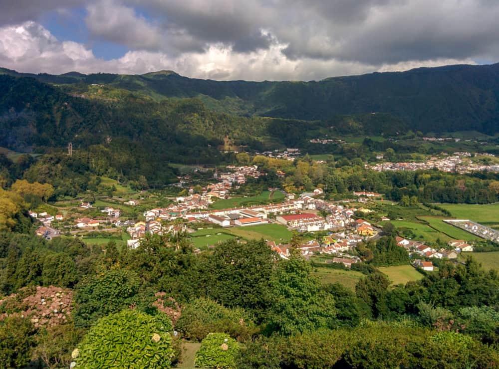 Overlooking Furnas, Azores
