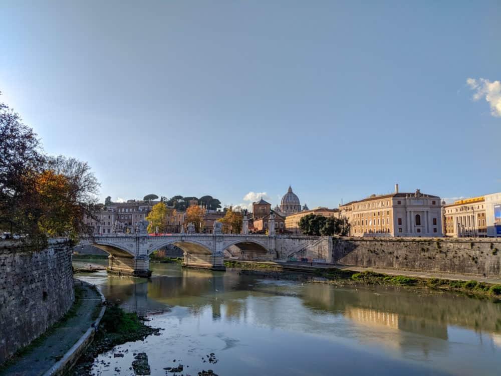 Ponte Saint Angelo, Rome