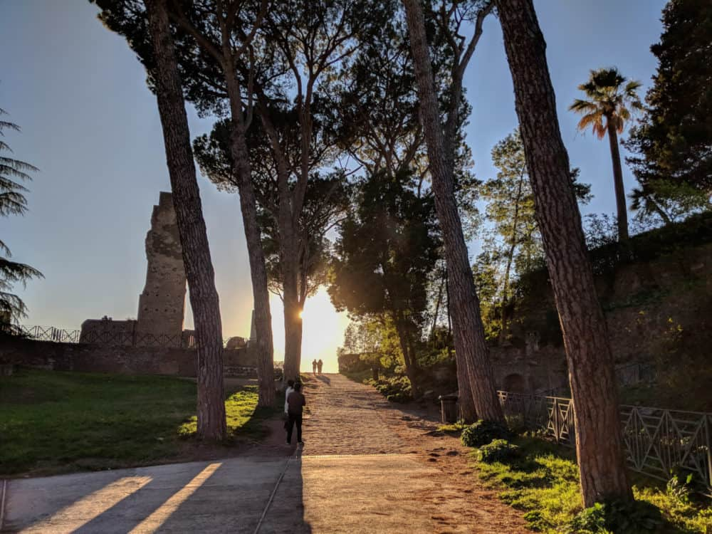 Shadows on Palatine Hill