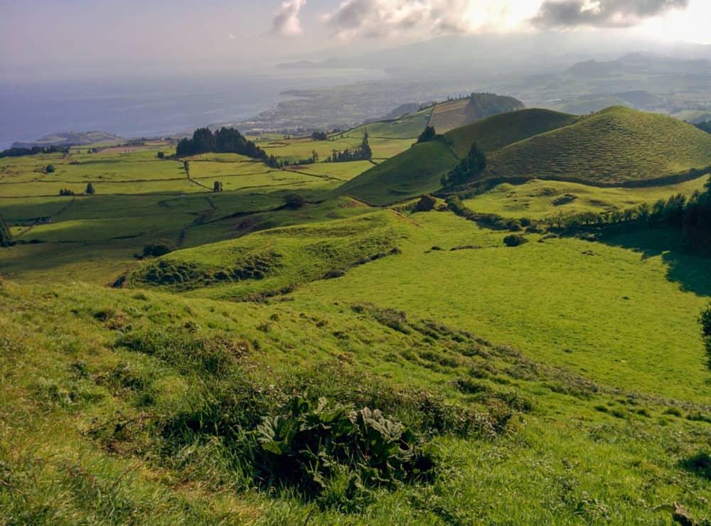 View back towards the coast, São Miguel_