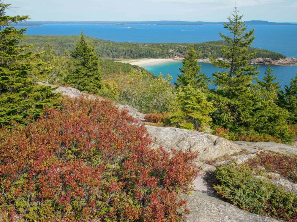 View from the top, Gorham Mountain, Acadia