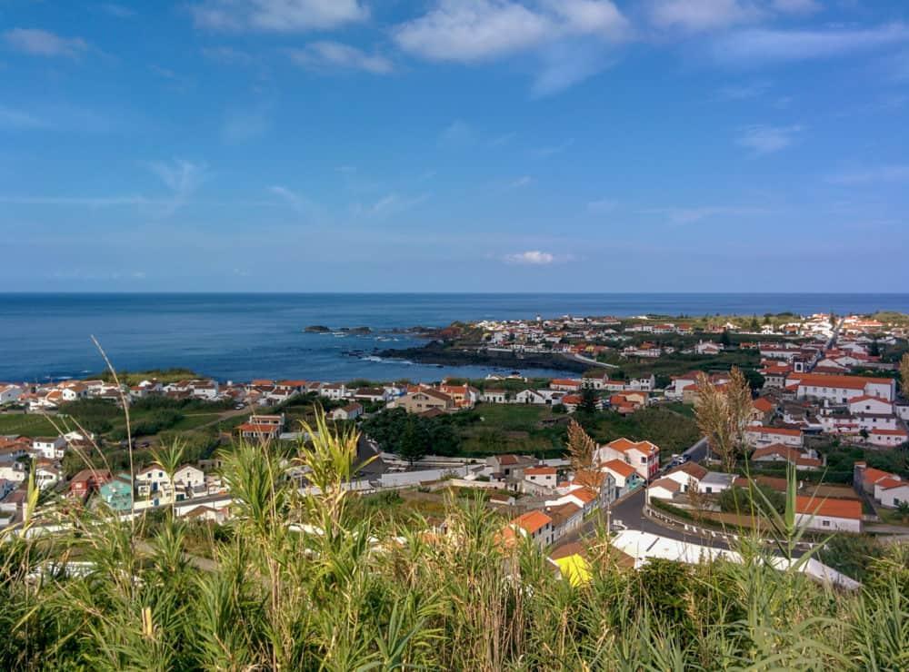 View over Mosteiros, São Miguel_