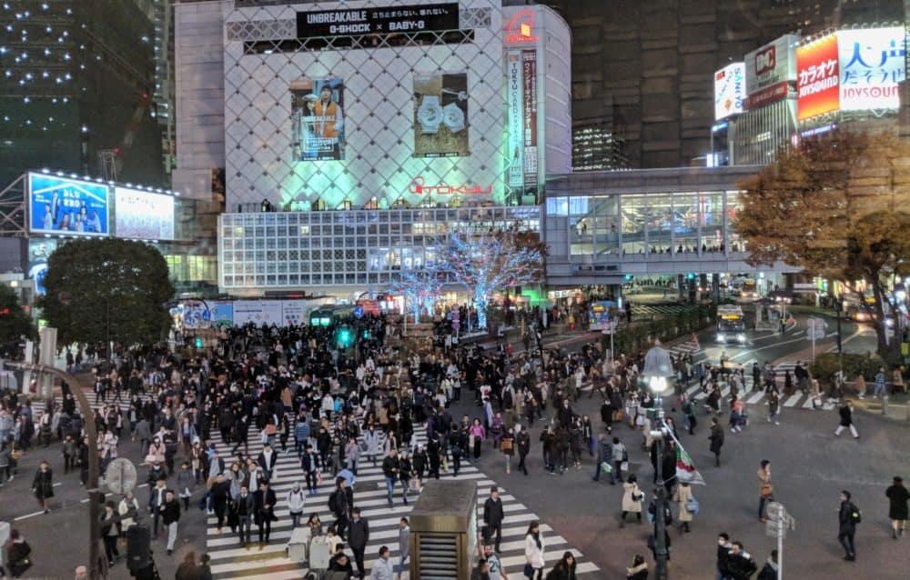 Tokyo crowds