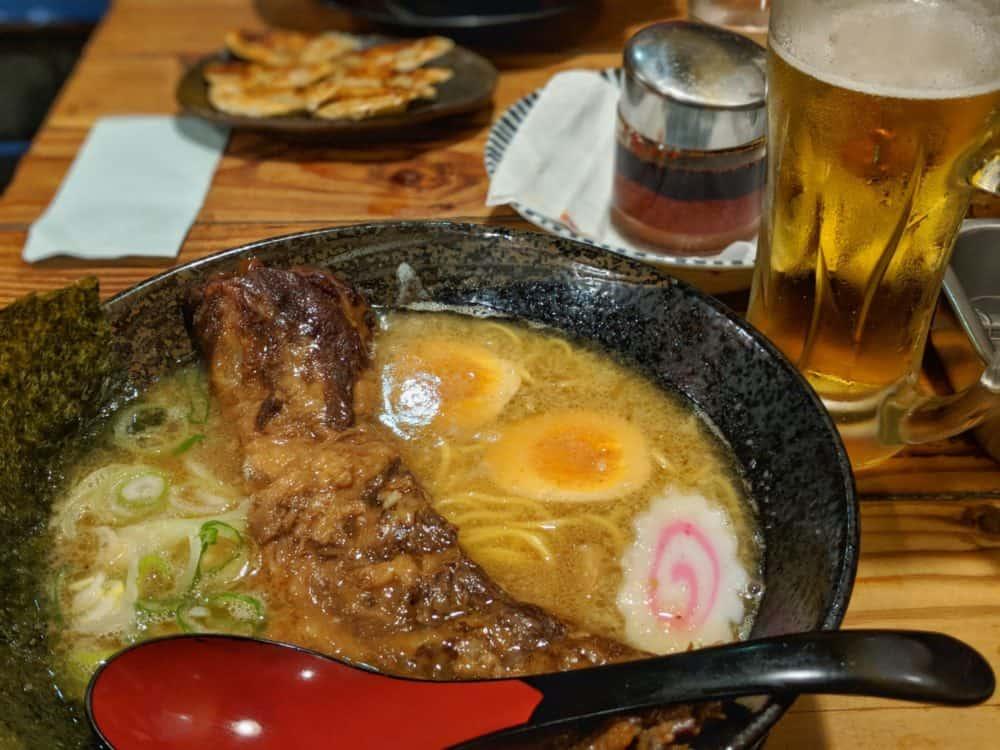 Ramen in Osaka