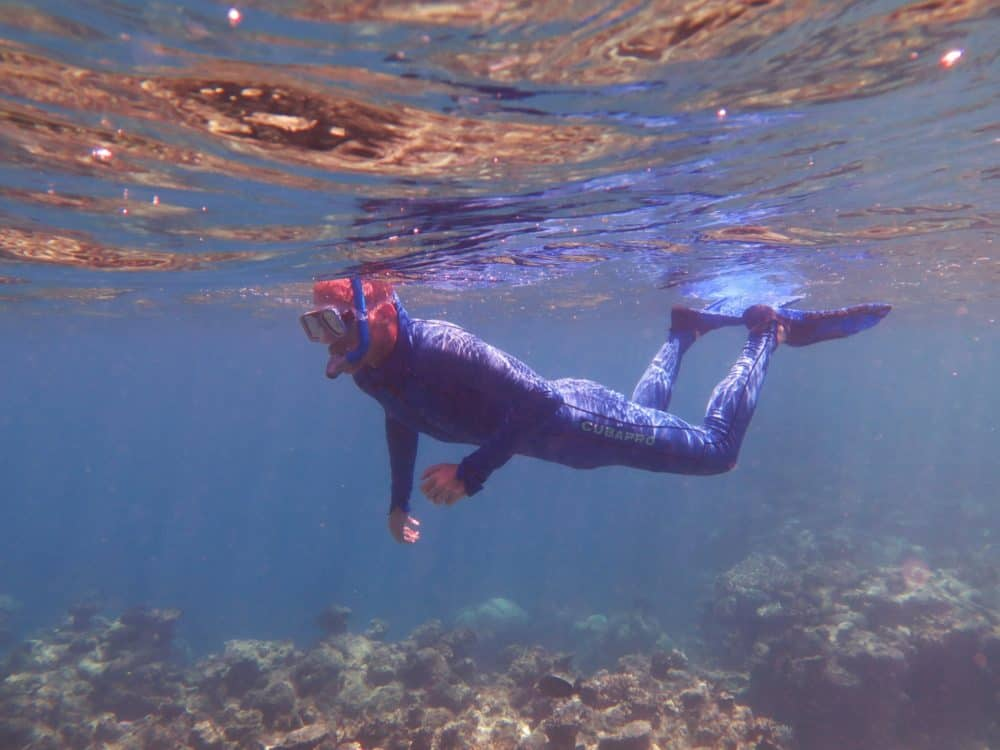Snorkeling Dave
