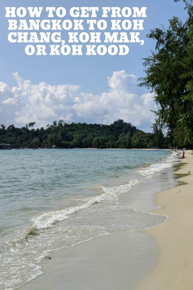 How to get from Bangkok to Koh Chang, Koh Mak, or Koh Kood