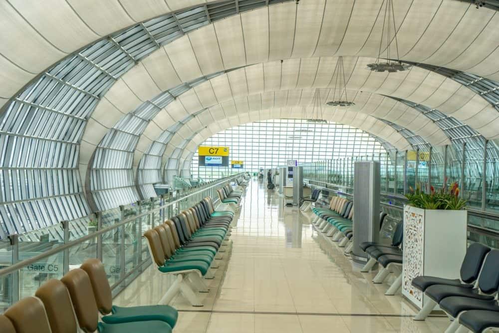 Suvarnabhumi Airport gate