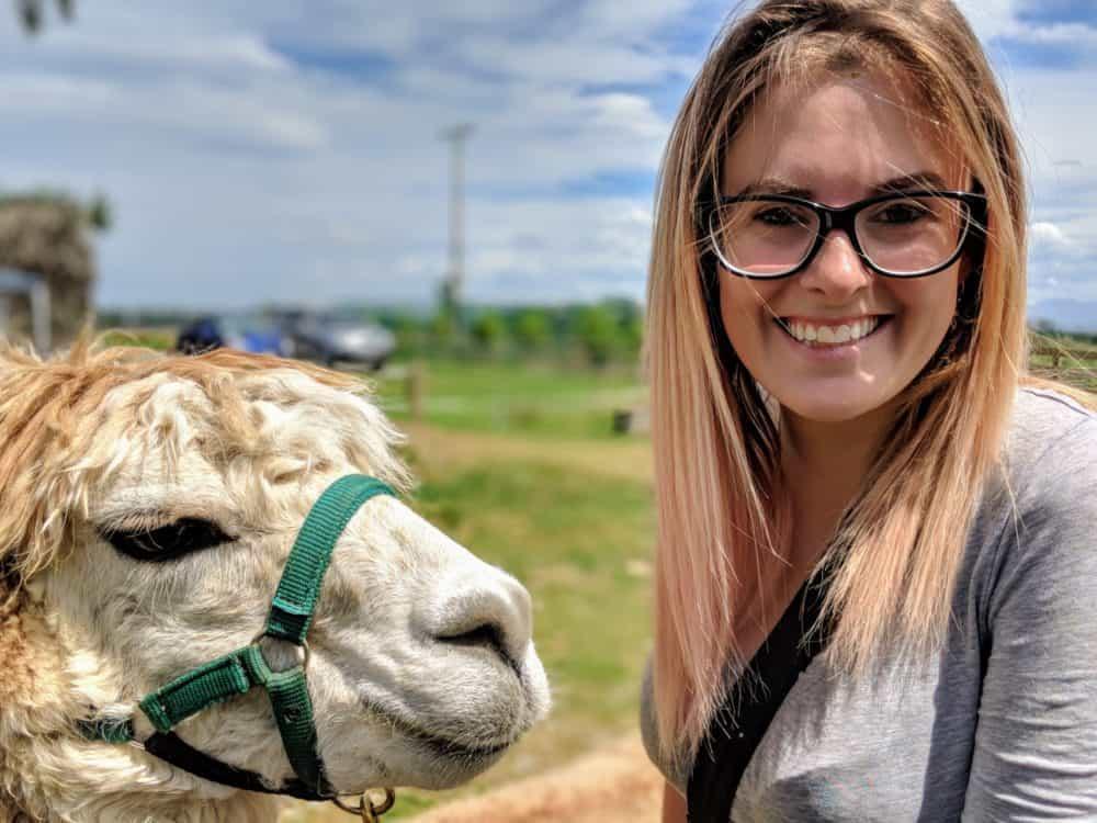 Happy Lauren. Happy alpaca