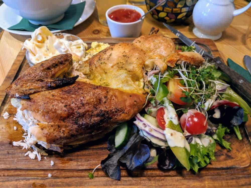 Chicken dinner, Cotswold Way
