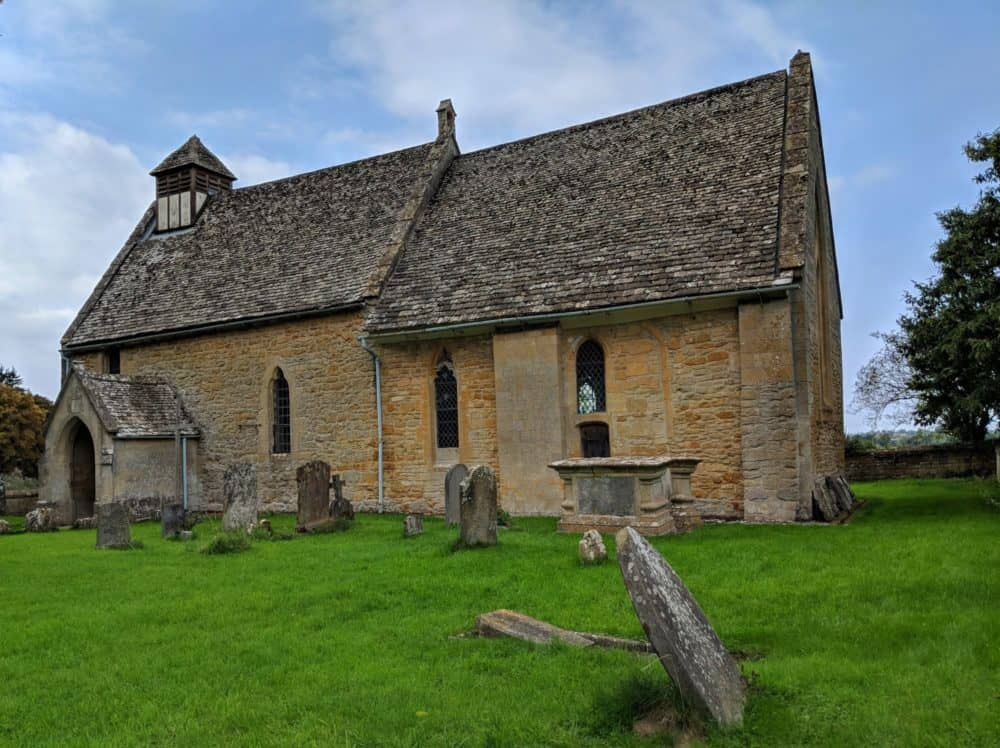 Hailes Church, Cotswold Way