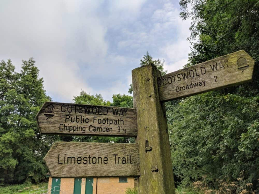Signposts, Cotswold Way
