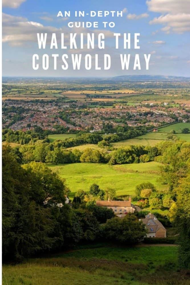 Walking the Cotswold Way