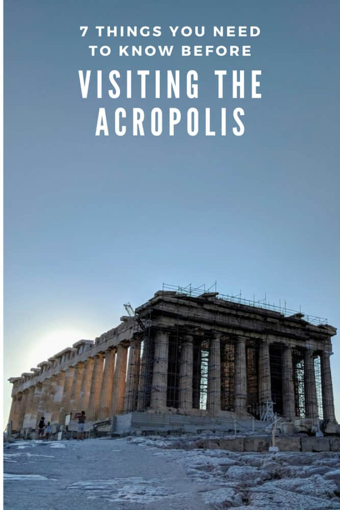 7 things you need to know before visiting the Acropolis